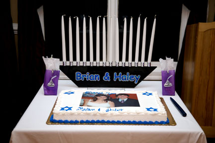 Candle Lighting Holder   For Your Candle Lighting Ceremony  Customized With  Bar Or Bat Mitzvah Childu0027s Name.