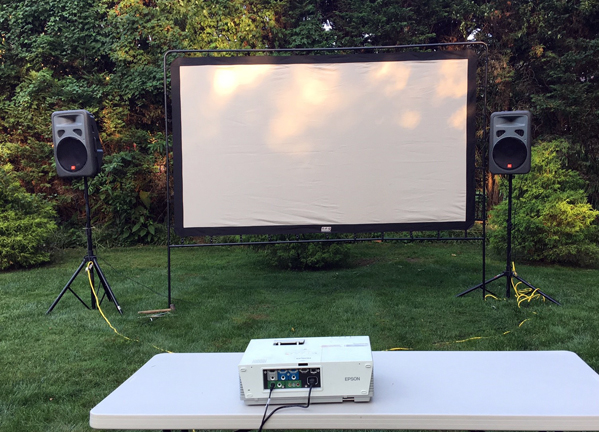 Rent Inflatable Outdoor Movie Screen Giant Movies
