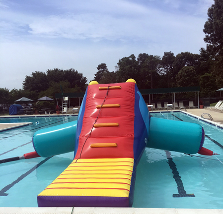 Dolphin Inflatable Swimming Pool Water Slide Rentals - MD DC VA