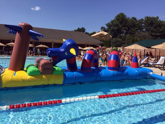 Rent Lochness Monster Dragon Floating Water Obstacle