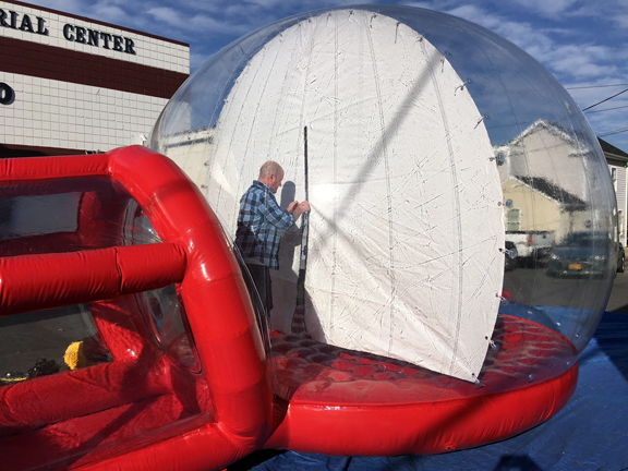 Rent An Inflatable Snow Globe Photo Booth Prop Md Dc Va