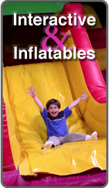 Interactive games and Inflatables