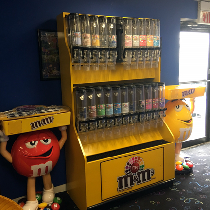 Candy Store Display Rentals Md Dc Va Rent A Candy M Amp M