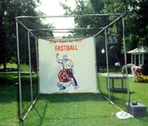 baseball speed pitch - cage - white house - web