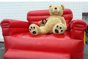 big red chair and bear - web