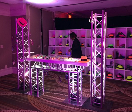 Led Truss Bar Rentals Md Dc Va Portable Truss Bar For